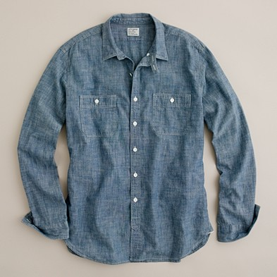 Shop blue chambray sport shirt at Neiman Marcus, where you will find free shipping on the latest in fashion from top designers.